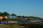 A Plethora of Power! CSX 5523+678, 2341+6411 and 2491+2480.